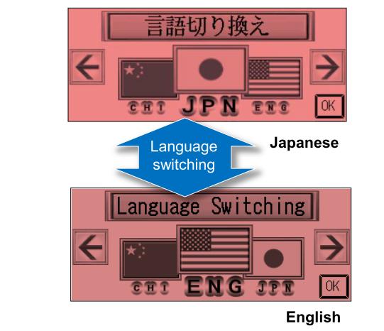 Language switching