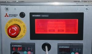 Mitsubishi frekvenciaváltó kijelző GOT1000 Reset