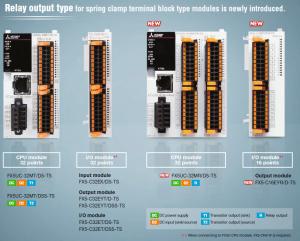 FX5UC TS PLC és modulok